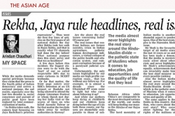 Rekha, Jaya rule headlines, real issues sidelined