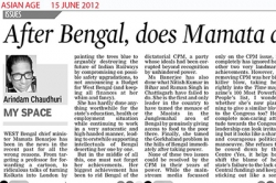 After Bengal, does mamta aim to delhi durbar, Article by Prof. Arindam Chaudhuri