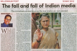 The fall and fall of indian media